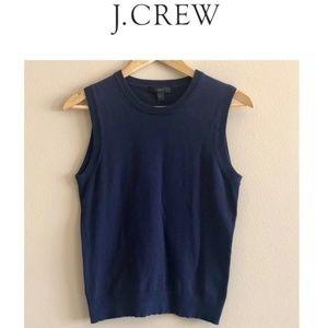 JCrew Dark Blue Vest Size M